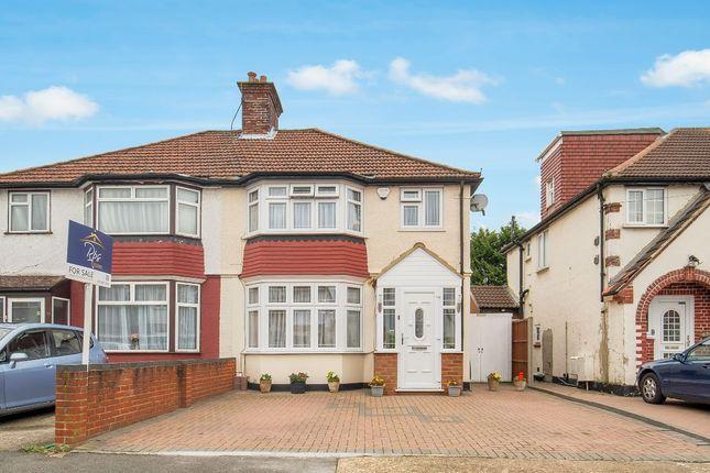 Thumbnail Semi-detached house for sale in Devon Waye, Heston