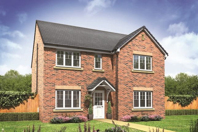 "Thumbnail Detached house for sale in ""The Marylebone"" at Lionheart Avenue, Bishops Tachbrook, Leamington Spa"