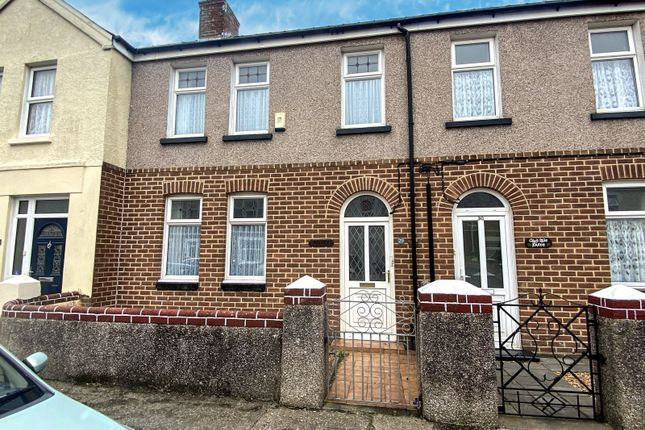 3 bed terraced house for sale in Stratford Road, Milford Haven, Pembrokeshire SA73