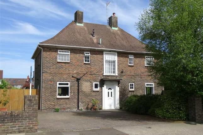 Thumbnail Detached house for sale in Forest Road, Broadwater, Worthing