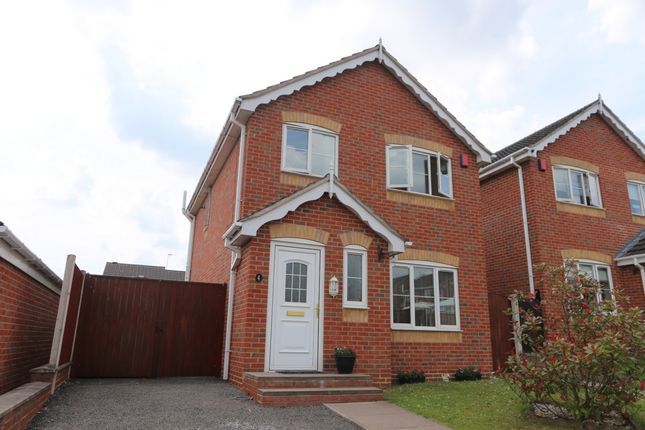Thumbnail Detached house for sale in Turin Close, Weston Park