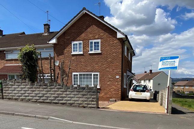 End terrace house for sale in Llanrumney Avenue, Llanrumney, Cardiff.