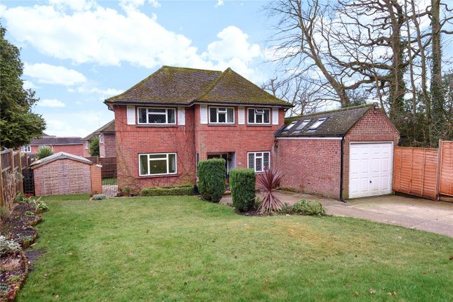 Thumbnail Detached house for sale in Fernhill Close, Blackwater, Camberley