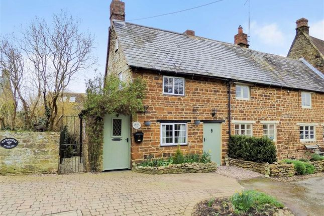 Thumbnail End terrace house for sale in Prestige Row, Moreton Pinkney, Northamptonshire