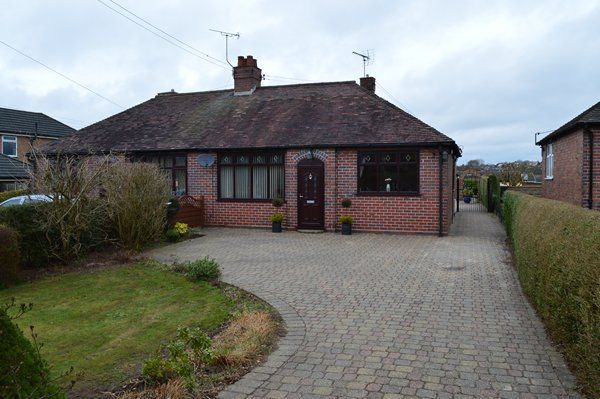 Thumbnail Bungalow for sale in Market Drayton Road, Loggerheads