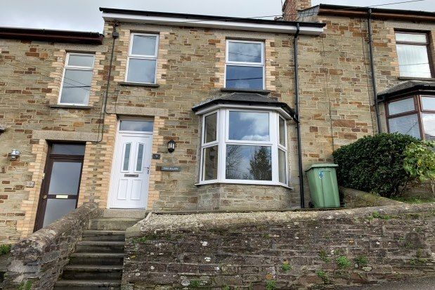 Thumbnail Terraced house to rent in Clifden Terrace, Bodmin