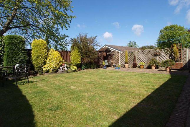 Rear Garden of Ringwood Drive, Cramlington NE23