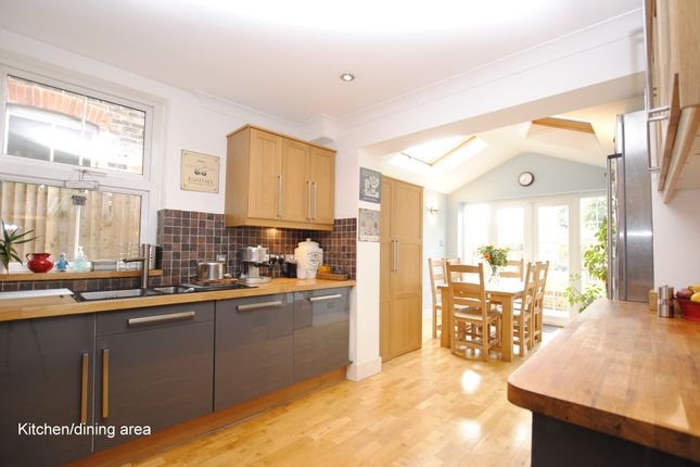 Thumbnail Terraced house to rent in Yorke Road, Reigate, Surrey