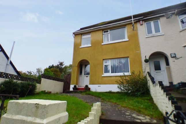 Thumbnail End terrace house for sale in Wrights Lane, Torquay