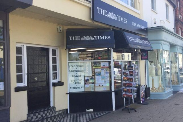 Thumbnail Retail premises for sale in High Street, Newmarket