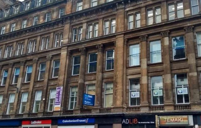 Thumbnail Office for sale in Hope Street, Glasgow