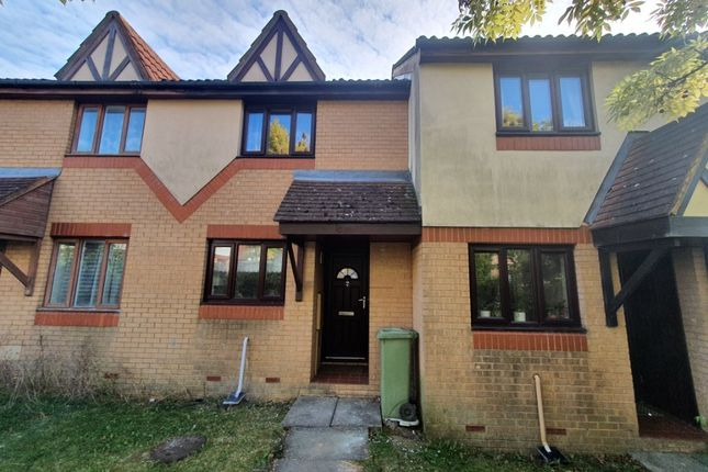 Thumbnail 2 bed terraced house to rent in Trentishoe Crescent, Furzton, Milton Keynes
