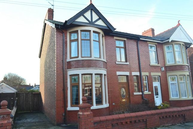 Thumbnail Semi-detached house for sale in Worsley Avenue, Blackpool