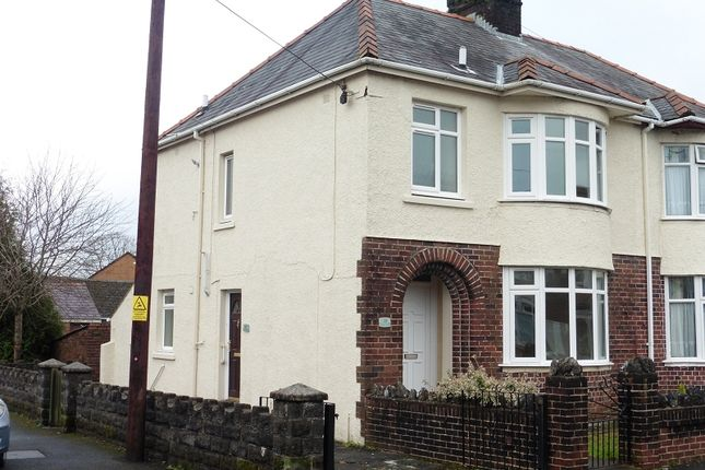 Thumbnail Flat to rent in 1A Heol Las, Ammanford, Carmarthenshire.