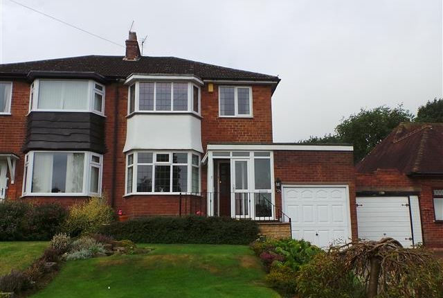 Thumbnail Semi-detached house for sale in Harcourt Drive, Four Oaks, Sutton Coldfield