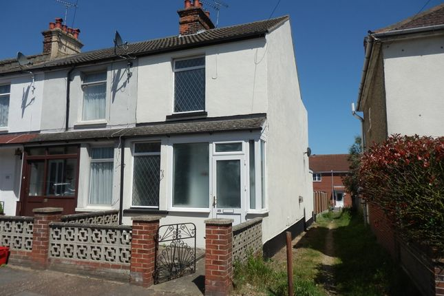 Thumbnail End terrace house for sale in Birch Avenue, Dovercourt