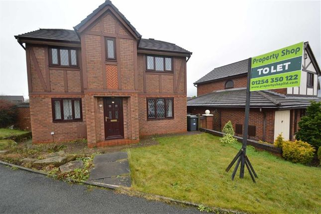 Thumbnail Detached house to rent in Foxwood Chase, Accrington