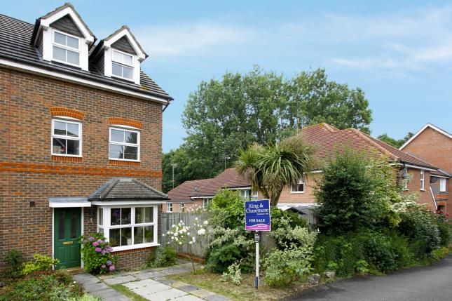 Thumbnail End terrace house for sale in Crowhurst Crescent, Storrington, Pulborough, West Sussex