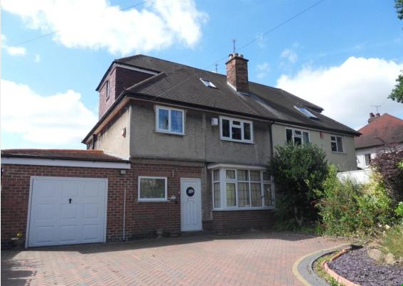 Thumbnail 4 bed semi-detached house to rent in Kings Croft, Allestree, Derby