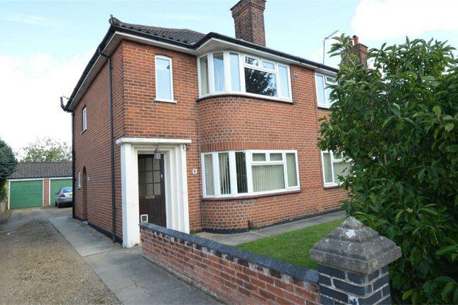 Thumbnail Flat for sale in Lady Betty Road, Norwich, Norfolk
