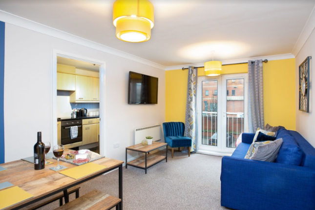 Thumbnail Flat to rent in Soudrey Way, Cardiff