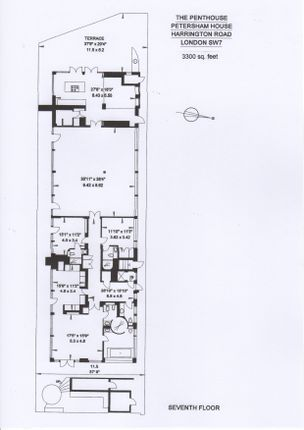 Floorplan  of Harrington Road, South Kensinton SW7