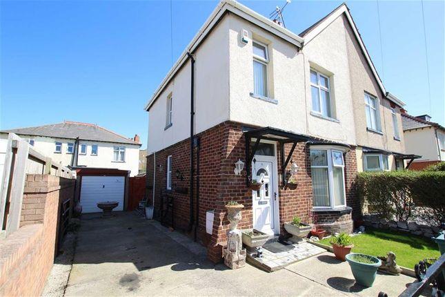 Thumbnail Semi-detached house for sale in Ger Y Mor, Station Road, Pensarn, Abergele