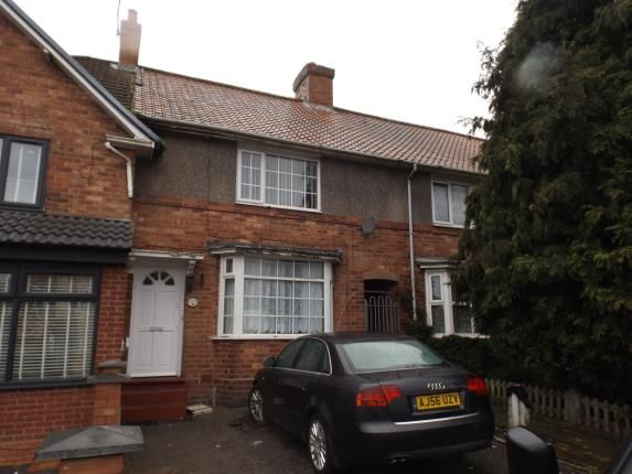 Thumbnail Terraced house for sale in Botha Road, Bordesley Green, Birmingham, West Midlands