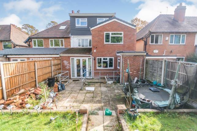 Rear Garden of Stoney Lane, Yardley, Birmingham, West Midlands B25