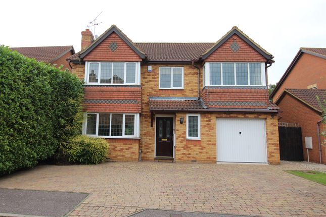 Thumbnail Detached house for sale in Gordian Way, Stevenage