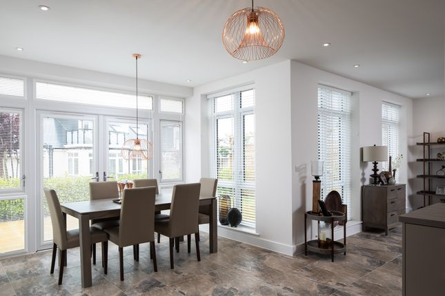 The Maple Showhome Dining Area