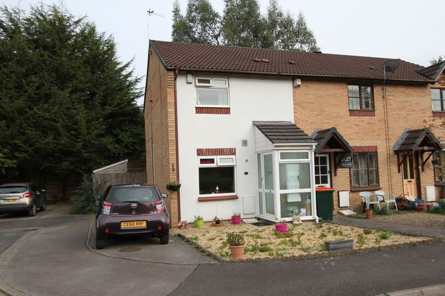 Thumbnail End terrace house for sale in Forge Mews, Bassaleg, Newport
