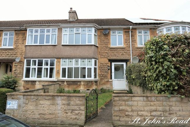 Thumbnail Terraced house to rent in St. Johns Road, Bathwick, Bath