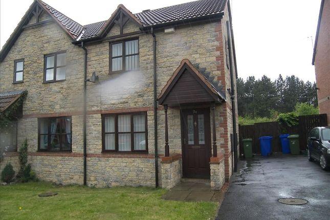 Thumbnail Semi-detached house to rent in Beech Avenue, Cramlington