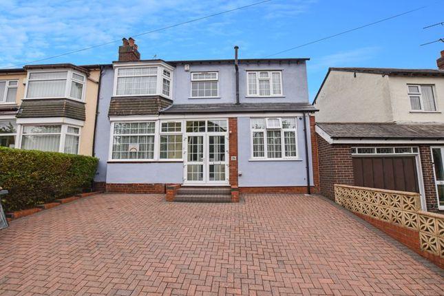 Thumbnail Semi-detached house for sale in Stoney Lane, Quinton, Birmingham