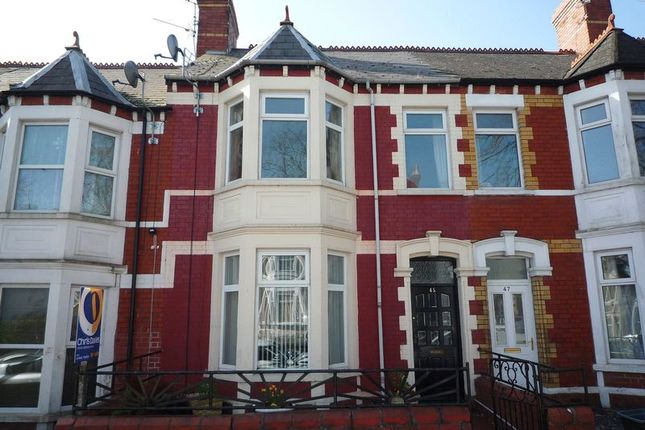Thumbnail Terraced house for sale in Tynewydd Road, Barry