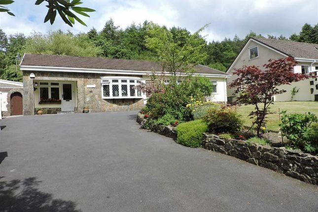 Thumbnail Detached bungalow for sale in Parish Road, Cwmgwrach, Neath