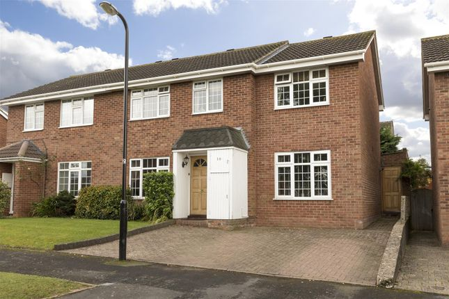 Thumbnail Semi-detached house for sale in Lisle Gardens, Bishops Tachbrook, Leamington Spa