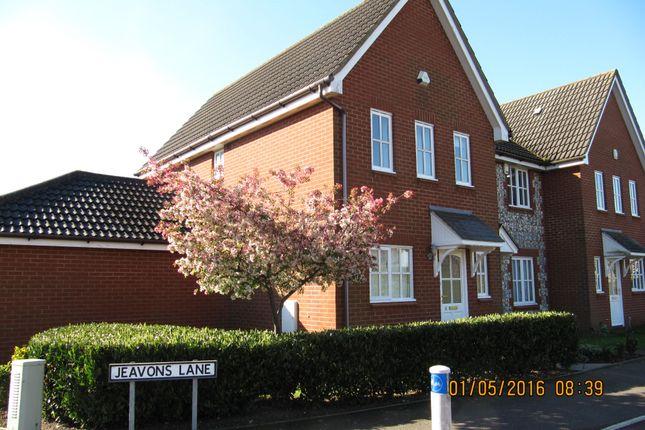 Thumbnail Semi-detached house to rent in Jeavons Lane, Kesgrave, Ipswich