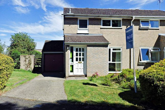 Thumbnail Semi-detached house to rent in Queen Emmas Dyke, Witney, Oxfordshire