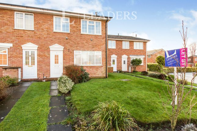 Thumbnail End terrace house to rent in Scaife Road, Nantwich