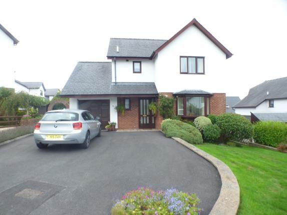 Thumbnail Detached house for sale in Gorseddfa, Criccieth, Gwynedd