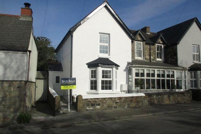 Thumbnail End terrace house for sale in Fernbank, Fore Street, Lelant, St. Ives