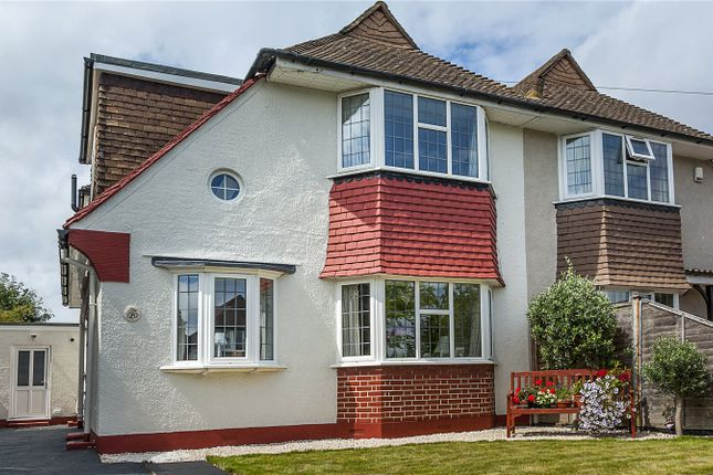 Thumbnail Semi-detached house for sale in Selkirk Road, Twickenham
