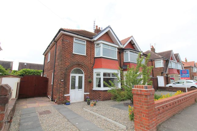 Thumbnail Semi-detached house for sale in Inver Road, Bispham