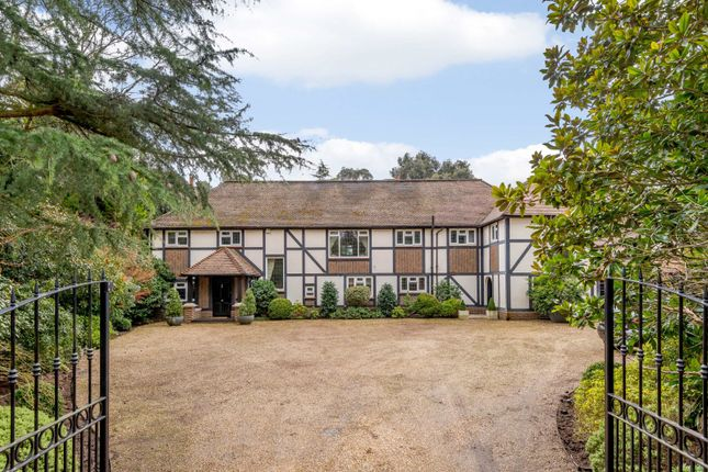 Thumbnail Detached house to rent in The Quillot, Burwood Park, Hersham, Walton-On-Thames