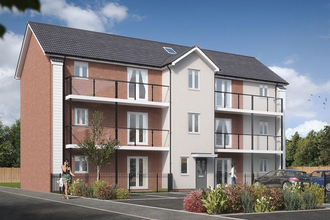"2 bedroom flat for sale in ""Corby Apartments"" at Hill Barton Road, Pinhoe, Exeter"