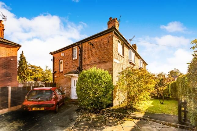 Thumbnail Semi-detached house for sale in Pickmere Avenue, Withington, Manchester, Greater Manchester