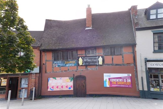 Thumbnail Commercial property to let in Former Whitefriars Olde Ale House, Gosford Street, Coventry, West Midlands