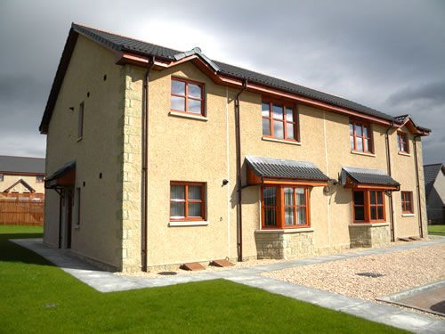 Thumbnail Flat to rent in Ben Riach View, Moray, Elgin